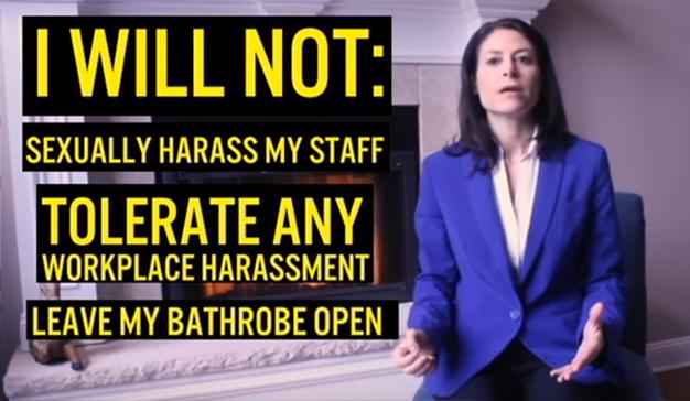 Este efectivo spot político denuncia el acoso sexual en el trabajo