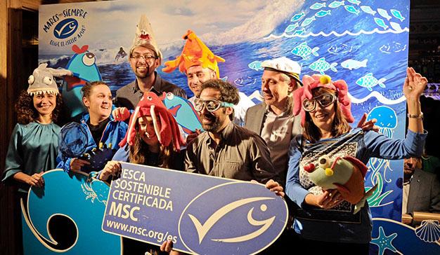 La campaña #MaresParaSiempre cuenta con el apoyo de chefs y pescadores