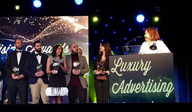 Lujo, glamour y muchos premios en Luxury Advertising Awards 2017