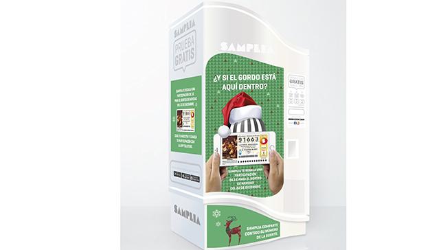 Samplia se une con TuLotero ofreciendo participaciones de Loteria de Navidad