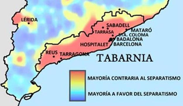 Tabarnia, la campaña que ha puesto contra las cuerdas los argumentos independentistas