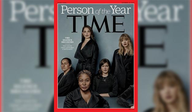 """Time elige como """"persona del año"""" a las mujeres que han denunciado casos de acoso sexual"""