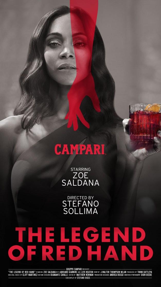 """Campari celebra el talento de los bartenders en su nuevo corto """"The Legend of Red Hand"""""""