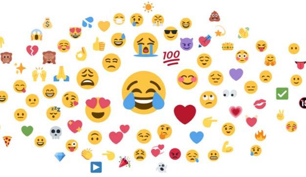 Las marcas utilizan los emojis en sus mensajes un 49% más que hace dos años
