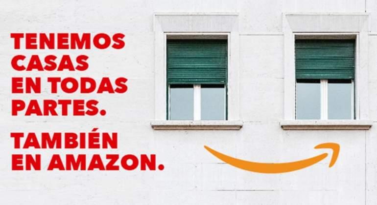 Comprar una casa en Amazon ya es posible