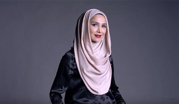 Esta modelo llevará un hiyab en la próxima campaña de L'Oréal