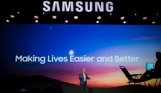 Samsung apunta y dispara al internet de las cosas en CES 2018