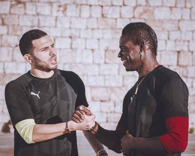 El reto PUMA Football continúa en YouTube con Balotelli