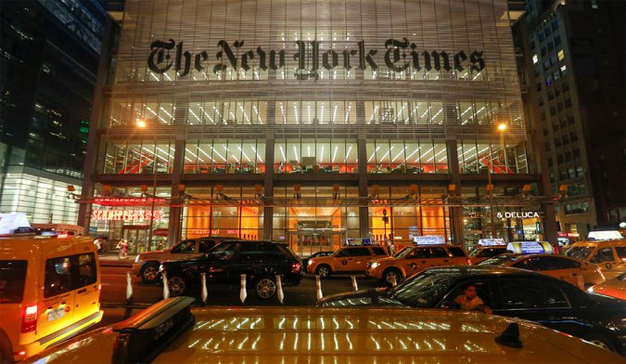 El negocio digital de The New York Times va viento en popa, pero sus beneficios se contraen
