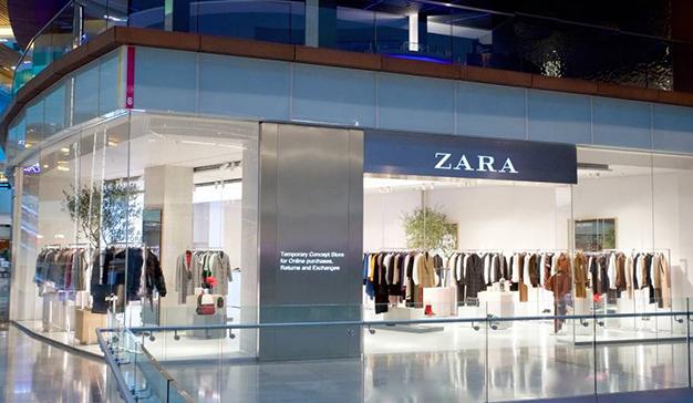 Zara funde el concepto de tienda física y online en su nuevo establecimiento