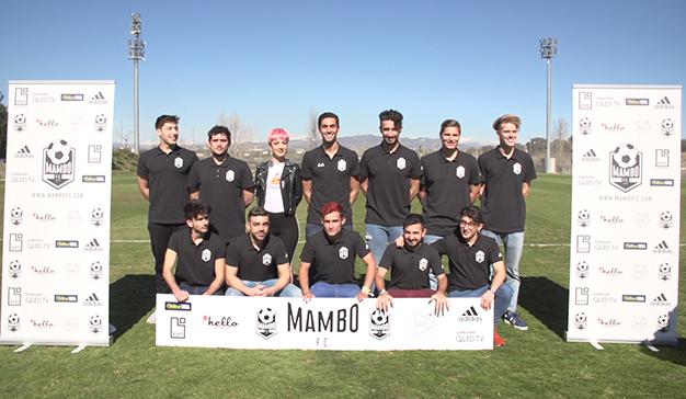Álvaro Arbeloa dirige Mambo FC, el primer equipo de fútbol formado por youtubers