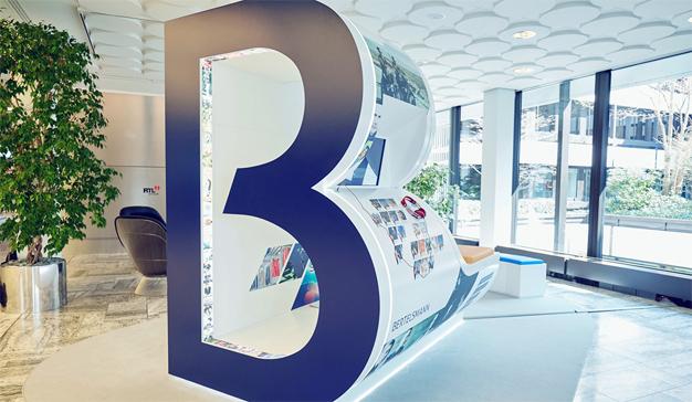 Los beneficios del conglomerado mediático Bertelsmann pegan una zancada del 5,4%