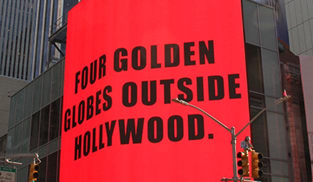 """La mejor manera de felicitar los Oscars de """"Three Billboards"""": con billboards"""