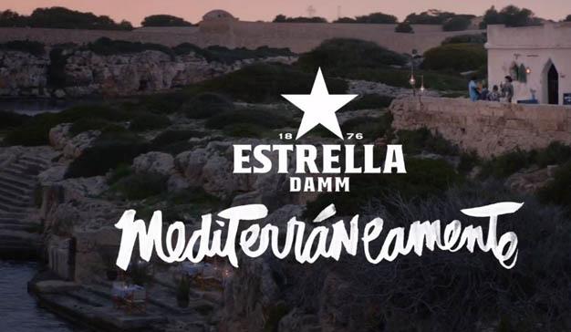 Alberto Chicote y Anna Castillo, protagonistas de la última campaña de Estrella Damm