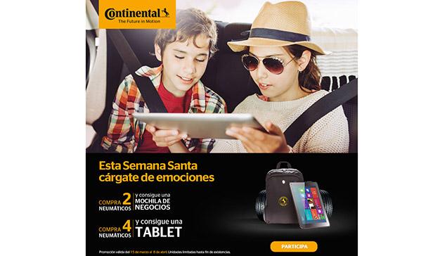 Continental apuesta por las campañas promocionales como estrategia de marketing