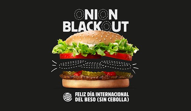 Burger King apuesta por los besos sin sabor a cebolla