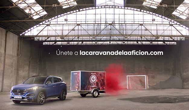 """Hyundai alienta a los aficionados a sumarse a """"La caravana de la afición"""""""