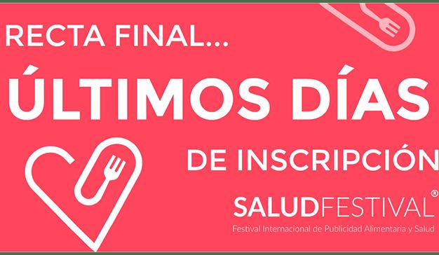 Recta final para participar en los premios SaludFestival 2018