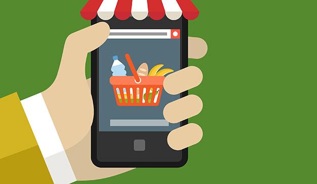 El 50% de los españoles ya compra comida online