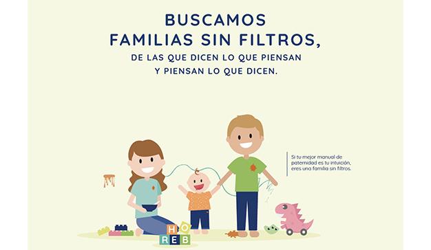 """Manifiesto lanza """"Familias sin filtros"""" de Hero Baby"""
