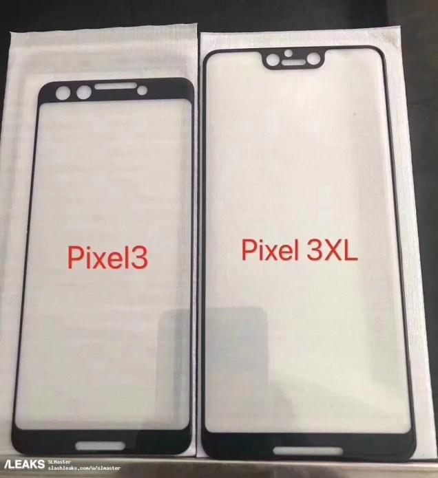 """El Pixel 3 XL de Google hace """"copy-paste"""" al iPhone X y tendrá pantalla completa y """"notch"""""""