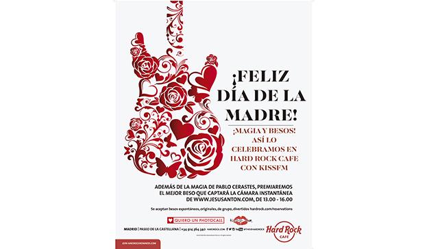 Celebra el Día de la Madre al estilo Hard Rock Cafe Madrid