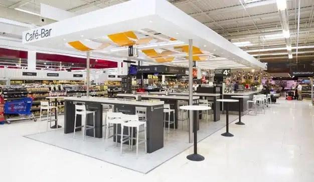 Así tratan los supermercados de hacerle la competencia a los restaurantes