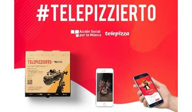 La Acción Social por la Música y Telepizza acercan la música a todos los hogares