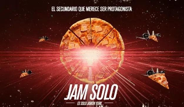 Telepizza presenta la entrega más esperada de su saga: Jam Solo