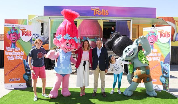 Llega a España la gira europea de los Trolls Truck