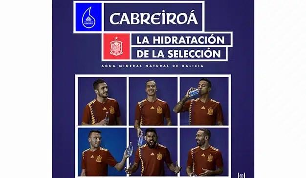 Cabreiroá apoya a la Selección Española de Fútbol con su nueva  campaña