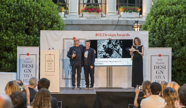 El IED Madrid premia a Toni Segarra por toda una carrera dedicada a la creatividad