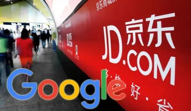 Google invierte 475 millones de euros en el gigante chino del e-commerce JD.com