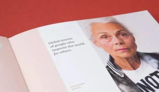 Esta nueva revista, obra de una agencia, muestra poderosas historias de gente comprometida