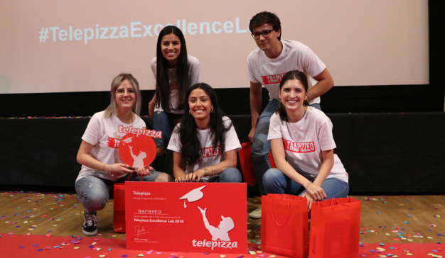 Excellence Lab: innovación, creatividad y mucho nivel en la final del concurso de Telepizza