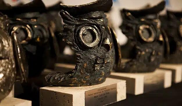 2 Búhos de Oro, 2 de platas, 1 de bronce y un  total de 28 estatuillas en Educafestival