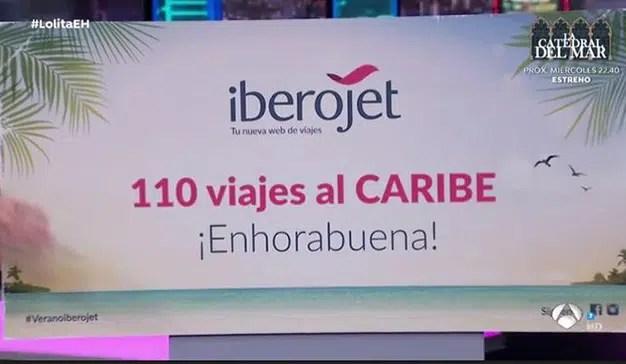 La web de viajes Iberojet regala 110 viajes al Caribe en El hormiguero 3.0