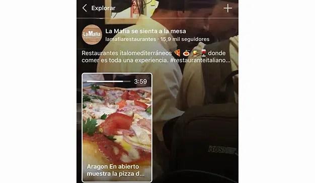 La Mafia se sienta a la mesa lanza su canal en la nueva aplicación de Instagram IGTV