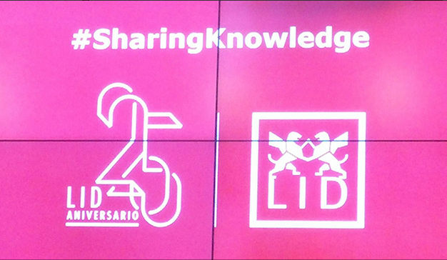Lid editorial celebra el evento #SharingKnowledge para obtener ideas de grandes expertos