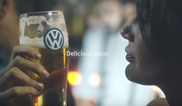 """Volkswagen lanza en Argentina una cerveza que es """"combustible"""" de la seguridad vial"""