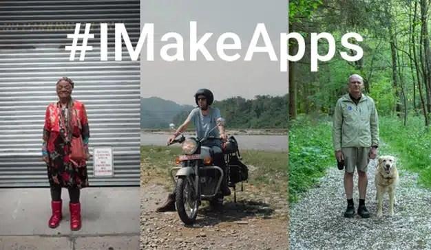 Android celebra a los desarrolladores de apps en su nueva campaña global #IMakeApps
