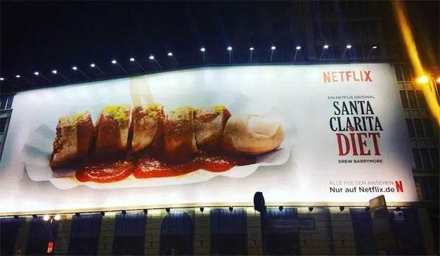 Así quiere convertirse Netflix en el rey absoluto de la publicidad exterior en Hollywood