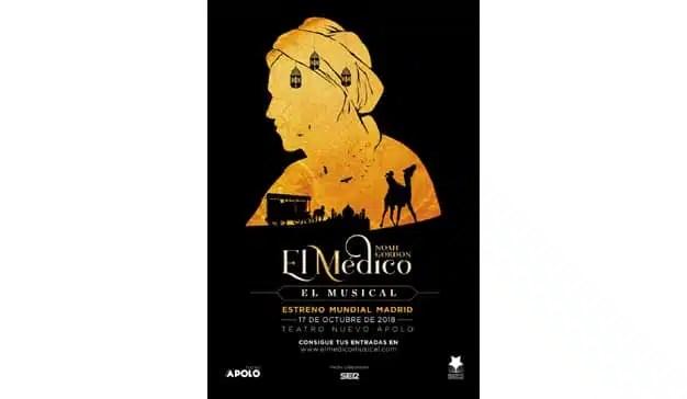 """beon. Worldwide participa como promotor en la producción en España del musical """"El Médico"""""""