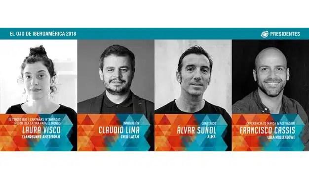 El Ojo anuncia los 4 primeros Presidentes de los Jurados 2018