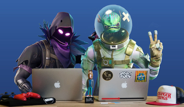 La agencia Dare.Win entrevista a sus posibles becarios a través del videojuego Fortnite