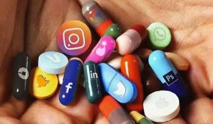 Resultado de imagen de adiccion a las redes sociales