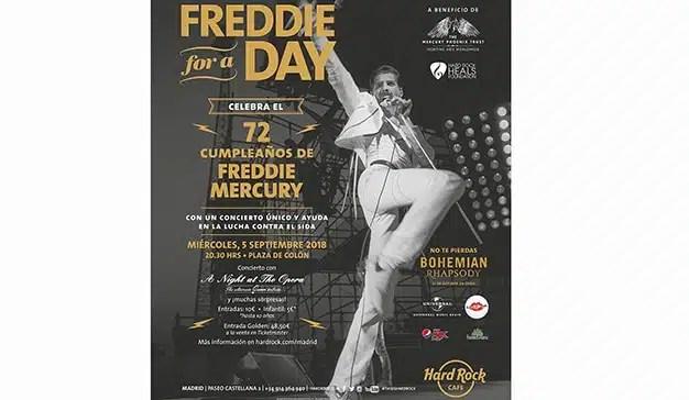 Hard Rock Cafe Madrid rinde un homenaje único a Freddie Mercury