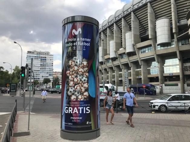 """""""Di hola a todo el fútbol"""", la nueva campaña de Movistar"""