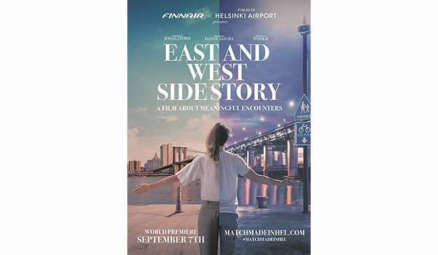 "Finnair y el aeropuerso de Helsinki estrenan ""East and West Side Story"""