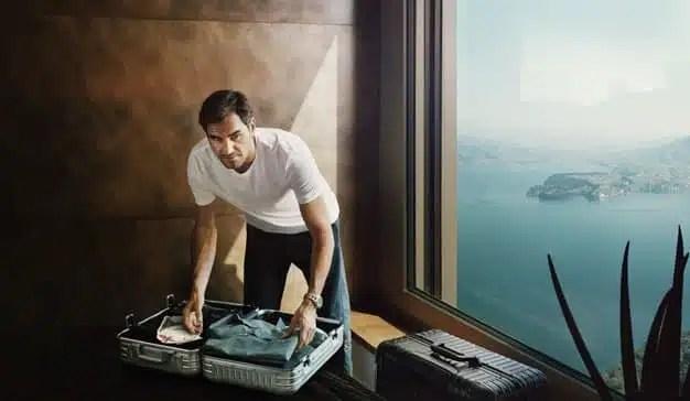 Roger Federer se une a otros conocidos cosmopolitas en la nueva campaña de Rimowa